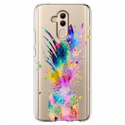 Etui na telefon Huawei Mate 20 Lite - Watercolor ananasowa eksplozja.