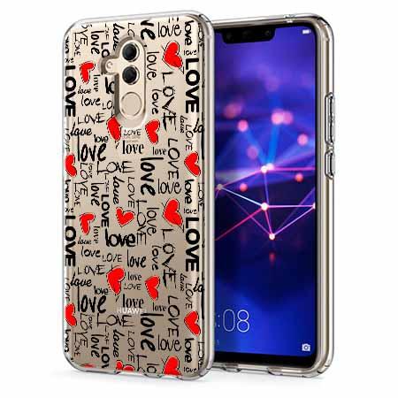 Etui na telefon Huawei Mate 20 Lite - Love, love, love…