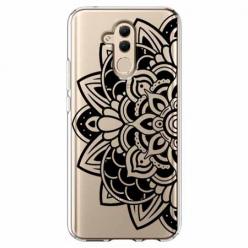 Etui na telefon Huawei Mate 20 Lite - Kwiatowa mandala.