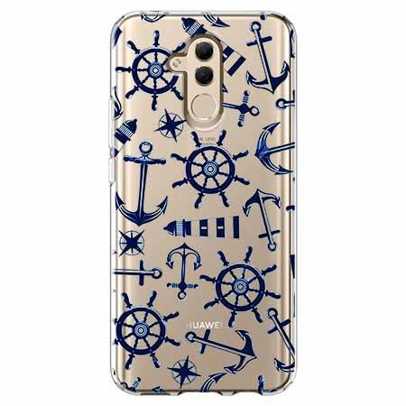 Etui na telefon Huawei Mate 20 Lite - Ahoj wilki morskie.