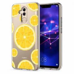Etui na telefon Huawei Mate 20 Lite - Cytrynowe orzeźwienie.