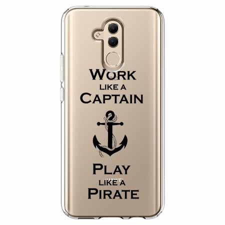 Etui na telefon Huawei Mate 20 Lite - Work like a Captain…