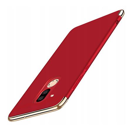 Etui na telefon Huawei Mate 20 Lite - Slim MattE Platynowane - Czerwony.