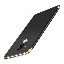Etui na telefon Huawei Mate 20 Lite - Slim MattE Platynowane - Czarny.