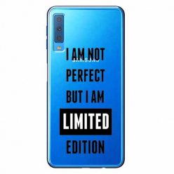 Etui na Samsung Galaxy A7 2018 - I Am not perfect…