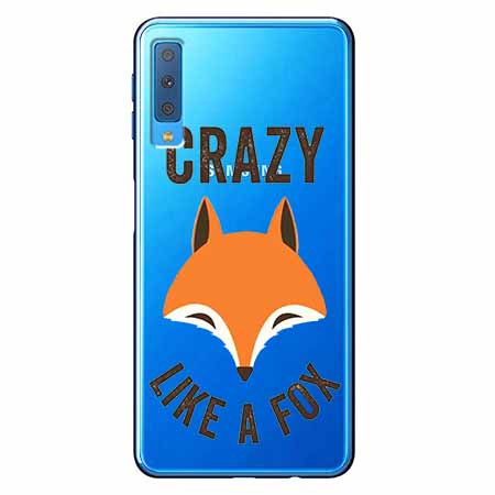 Etui na Samsung Galaxy A7 2018 - Crazy like a fox.