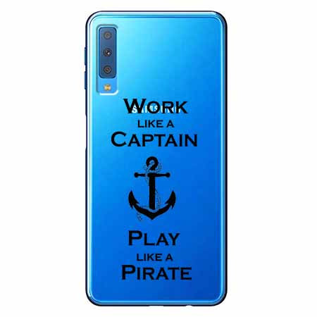 Etui na Samsung Galaxy A7 2018 - Work like a Captain…