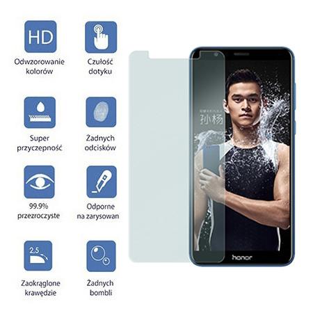 Huawei Honor 7X - hartowane szkło ochronne na ekran 9h.