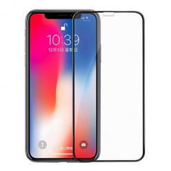 Apple iPhone XS hartowane szkło 5D Full Glue - Czarny.