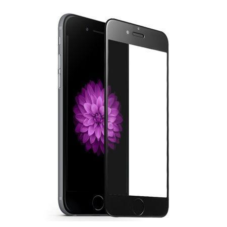 Apple iPhone 8 Plus - hartowane szkło 5D na cały ekran - Czarny.