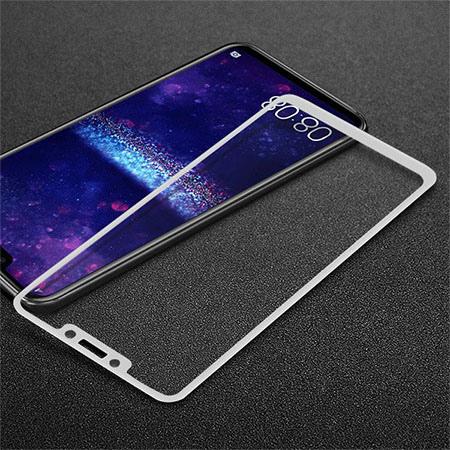 Huawei Mate 20 Lite hartowane szkło 5D Full Glue - Biały