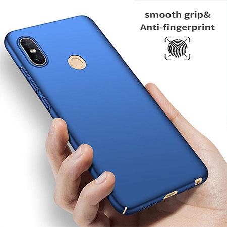 Etui na telefon Xiaomi Redmi S2 - Slim MattE - Niebieski.