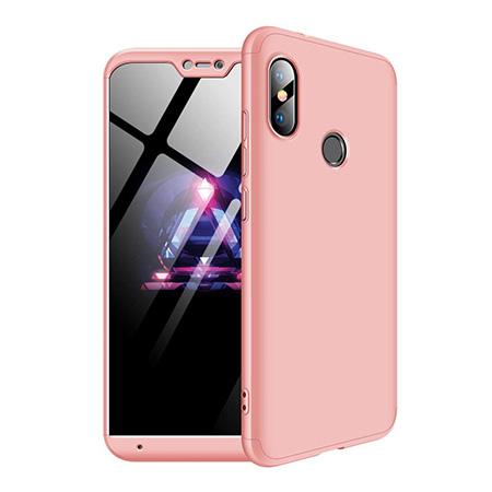 Etui na telefon Xiaomi Mi A2 Lite - Slim MattE 360 - Różowy.