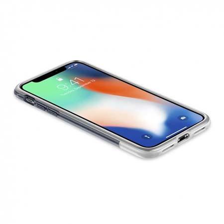 Etui Spigen na iPhone X - Classic szary