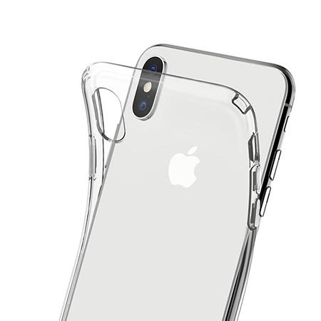 Etui na telefon Apple iPhone X - Polne stokrotki nocą.