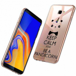 Etui na Samsung Galaxy J4 Plus - Keep Calm… Pandicorn.