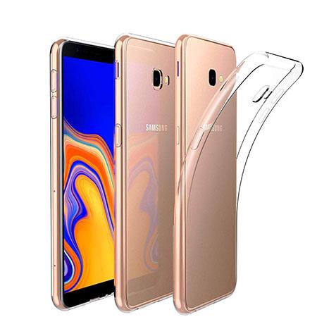 Etui na Samsung Galaxy J4 Plus - Jednorożec na tęczy.