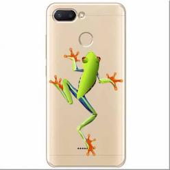 Etui na Xiaomi Redmi 6 - Zielona żabka.
