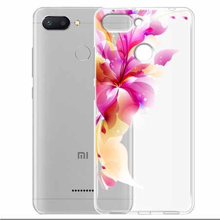 Etui na Xiaomi Redmi 6 - Bajeczny kwiat.