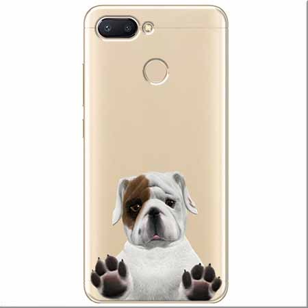 Etui na Xiaomi Redmi 6 - Słodki szczeniaczek.