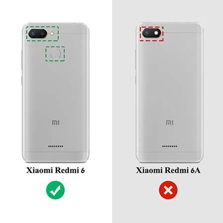 Etui na Xiaomi Redmi 6 - Wiśniowa plejada.