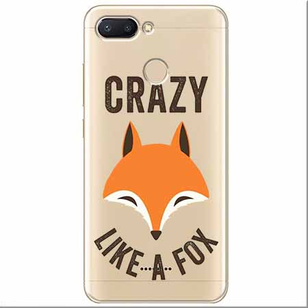 Etui na Xiaomi Redmi 6 - Crazy like a fox.
