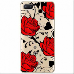 Etui na Xiaomi Redmi 6 - Czerwone róże.