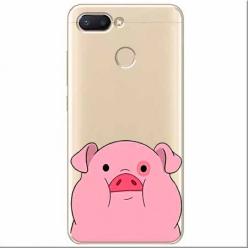 Etui na Xiaomi Redmi 6 - Słodka różowa świnka.