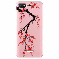Etui na Xiaomi Redmi 6A - Krzew kwitnącej wiśni.