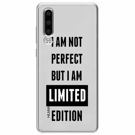 Etui na Huawei P30 - I Am not perfect…