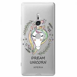 Etui na Sony Xperia XZ3 - Dream unicorn - Jednorożec.