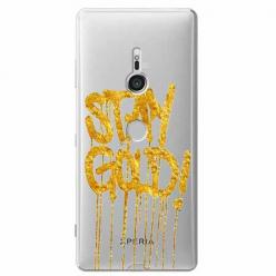 Etui na Sony Xperia XZ3 - Stay Gold.