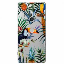 Etui na Sony Xperia XZ3 - Egzotyczne tukany.