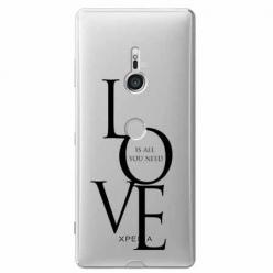 Etui na Sony Xperia XZ3 - All you need is LOVE.