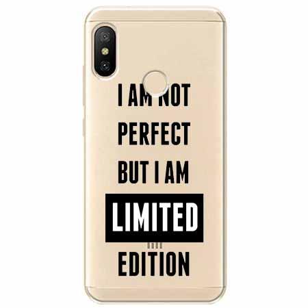 Etui na Xiaomi Mi A2 Lite - I Am not perfect…