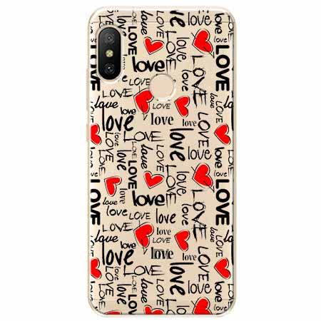 Etui na Xiaomi Mi A2 Lite - Love, love, love…