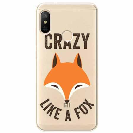 Etui na Xiaomi Mi A2 Lite - Crazy like a fox.
