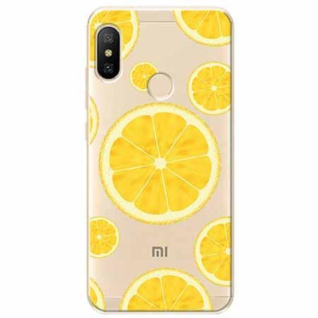 Etui na Xiaomi Mi A2 Lite - Cytrynowe orzeźwienie.