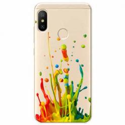 Etui na Xiaomi Mi A2 Lite - Kolorowy splash.