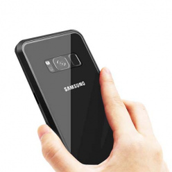 Etui metalowe Magneto Samsung Galaxy S8 - Czarny
