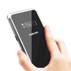 Etui Magnetyczne metalowe Magneto Samsung Galaxy S8 Plus - Srebrny