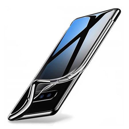 Etui na Samsung Galaxy S10 Plus - silikonowe platynowane SLIM - Czarny.