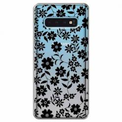 Etui na Samsung Galaxy S10 - Polne stokrotki nocą.