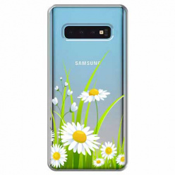 Etui na Samsung Galaxy S10 - Polne stokrotki.