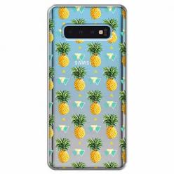 Etui na Samsung Galaxy S10 - Ananasowe szaleństwo.