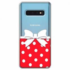 Etui na Samsung Galaxy S10 - Gustowna kokardka.