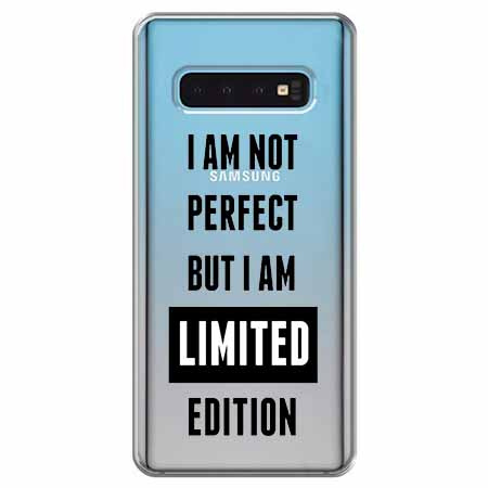 Etui na Samsung Galaxy S10 Plus - I Am not perfect…