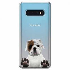 Etui na Samsung Galaxy S10 Plus - Słodki szczeniaczek.