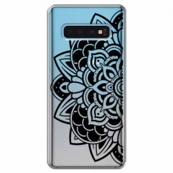 Etui na Samsung Galaxy S10 Plus - Kwiatowa mandala.