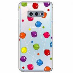 Etui na Samsung Galaxy S10e - Kolorowe lizaki.